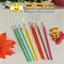 ไส้ปากกาเจลคละสี หัว0.38มิล 24 บาท/แพค 12ชิ้น/แพค thumbnail 1