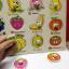 จิ๊กซอว์หมุดไม้ชุดผลไม้และคำศัพท์ มีพื้นหลัง ขนาด 30X20 เซนติเมตร thumbnail 5