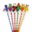 ดินสอหัวตุ๊กตุ่น ( หัวไม้ )120บาท/แพค 12ชิ้น/แพค thumbnail 2
