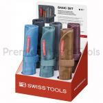 ไขควงชุด PB Swiss Tools รุ่น PB 8218 ด้ามกันไฟ พร้อมไขควงไฟฟ้า ซองผ้าเกรดสูง หลากสี (10 ตัว/ชุด)