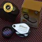กล้องส่องพระ NikonMini 10X 14mm จิ๋วแจ๋ว สีเงินโครเมี่ยม