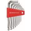 หกเหลี่ยมชุด PB Swiss Tools หัวบอล สั้น รุ่น PB 212 H-10 (9 ตัว/ชุด)