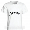 GROOM Shirt (Black & White)