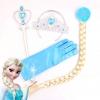 เซ็ทคฑา, มงกุฏ, ผมเปียเจ้าหญิงเอลซ่า (Elsa Frozen) - สีฟ้า
