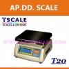 เครื่องชั่งดิจิตอล ตาชั่งดิจิตอล เครื่องชั่งแบบตั้งโต๊ะ 6kg ความละเอียด2g แท่น19x23cm.ยี่ห้อ TSCALE รุ่น T20
