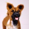 ตุ๊กตาสุนัขใยขนแกะ พันธุ์บาเซนจิ (BASENJI) Size L
