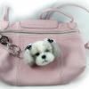 พวงกุญแจตุ๊กตาสุนัขใยขนแกะ พันธุ์ชิสุ (Shih Tsu)
