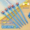ปากกาโดเรม่อน หัวคอปเตอร์ไม้ไผ่ (Doraemon)(เจลน้ำเงิน) 120บาท/แพค 12ชิ้น/แพค