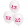 "*Bestselling* TEAM BRIDE 10"" Balloons (White)"