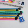 ดินสอ HB ด้ามสีสัน ZIBOM 42บาท/แพค 12ชิ้น/แพค