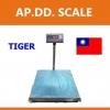 เครื่องชั่งดิจิตอล ตาชั่งดิจิตอล เครื่องชั่งดิจิตอล เครื่องชั่งตั้งพื้น 100kg ความละเอียด 10g ยี่ห้อ Tiger รุ่น TP–01แท่นชั่งขนาดฐาน 50x60cm