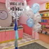 Blue & Grey Balloon Set for Hen Night