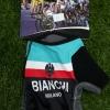 ถุงมือปั่นจักรยานโปรทีม Bianchi : GP150110