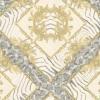 versace wallpaper ลายขนนกเหลือง