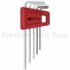 หกเหลี่ยมชุด PB Swiss Tools หัวตัด สั้น รุ่น PB 210 H-2 (5 ตัว/ชุด)