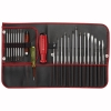 ไขควงชุด PB Swiss Tools ชุดไขควงชุดใหญ่+ชุดเล็ก+ไขควงลองไฟ รุ่น PB 9516 Red (31 ตัว/ชุด) ซองหนังริมแดง