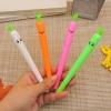 ปากกาหัวไชเท้ายิ้มคละสี(เจลน้ำเงิน) 96 บาท/โหล 12ชิ้น/โหล