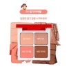 Holika Holika x Peko Chan Piece Matching 4 Shadow #01 Strawberry Caramel