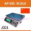 ตาชั่งดิจิตอล เครื่องชั่งดิจิตอล JZA Electronic-weighing scale เครื่องชั่ง 15kg ความละเอียด 0.5g มีแบตเตอรี่ชาร์จได้ (สามารถเพิ่มออปชั่นต่อปริ้นเตอร์ได้)
