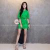 Mini dress oversize