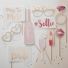 PINK & GOLD Hen Night Photo Prop