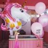 Pink Unicorn Balloon Set