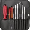 ไขควงชุด PB Swiss Tools รุ่น PB 8215 L ด้ามยางกันไฟ พร้อมไขควงไฟฟ้า (10 ตัว/ชุด)