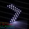 ไฟเลี้ยว LED SMD 33 ดวง กระพริบ 3 Step สีขาว