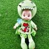 ของเล่นเด็ก ตุ๊กตาสีเขียว