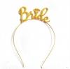 BRIDE Metal Headband (Gold)