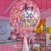 Pink & Gold Confetti 24-inch Balloon