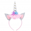 Silver Unicorn Headband