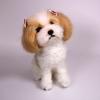 ตุ๊กตาสุนัขใยขนแกะ พันธุ์ชิสุ (SHIH TSU) Size M