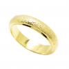 แหวนเกลี้ยงจิกเพชรชุบทอง