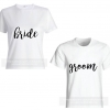 BRIDE & GROOM Couple Shirts