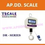 เครื่องชั่งดิจิตอล เครื่องชั่งแขวน 30กิโลกรัม ความละเอียด 5กรัม พร้อมรีโมทคอลโทรล ยี่ห้อ TSCALE รุ่น DR-30kg/5g