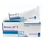 Benzac AC 5% 60g ยาละลายหัวสิว สำหรับสิวอักเสบ และสิวอุดตัน
