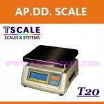 เครื่องชั่งดิจิตอล ตาชั่งดิจิตอล เครื่องชั่งแบบตั้งโต๊ะ 3kg ความละเอียด1g แท่น19x23cm.ยี่ห้อ TSCALE รุ่น T20