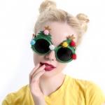 แว่นตารูปต้นคริสต์มาส