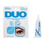 DUO Adhesive 7g #Clear กาวติดขนตาปลอมสีขาว กันน้ำ กันเหงื่อ (สีฟ้า) หลอดบีบ