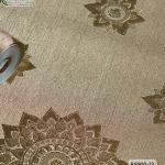 wallpaper ลายไทย ลายดาว สีทอง