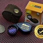กล้องส่องพระ NikonMini 10X 14mm จิ๋วแจ๋ว สีดำดูดี