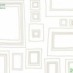 วอลเปเปอร์ตกแต่งห้องเด็กลายเส้น3มิติสีขาว