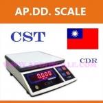 เครื่องชั่งดิจิตอลตั้งโต๊ะ เครื่องชั่งระบบอิเล็กทรอนิกส์ เครื่องชั่ง 3 kg ละเอียด 0.1 g ขนาด 218*260mm CST รุ่น CDR-3