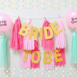 BRIDE TO BE Backdrop 1
