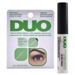 DUO Brush On Lash Adhesive 5g #Clear Tone กาวติดขนตาปลอมสีขาว กันน้ำ กันเหงื่อ (สีเขียว) หัวพู่กัน
