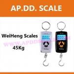 เครื่องชั่งดิจิตอล45kg เครื่องชั่งแขวน45kg เครื่องชั่งแขวนดิจิตอล45กิโล เครื่องชั่งแบบแขวน45kg ละเอียด10g WeiHeng Scales WH-A08 45kg/10g