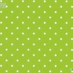 วอลเปเปอร์วงกลมลายจุดขาวพื้นเขียว