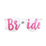 Pink & White BRIDE Eyeglasses