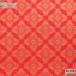 wallpaper ลายไทยห้องพระ ลายประจำยามสีแดง